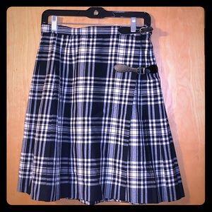 Brooks brothers pleaded skirt Sz 10
